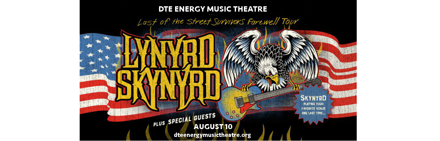 Lynyrd Skynyrd at DTE Energy Music Theatre