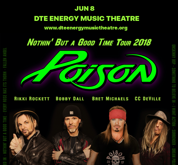 Poison & Cheap Trick at DTE Energy Music Theatre