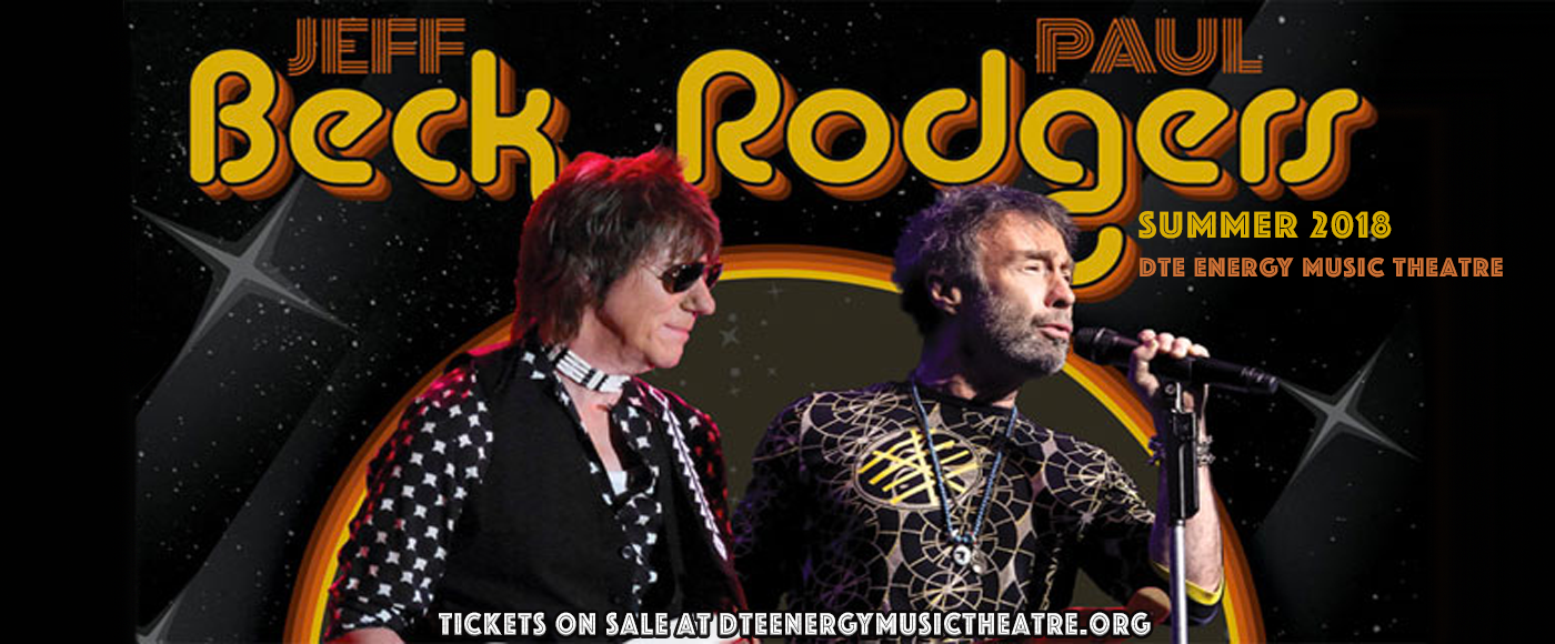 Jeff Beck, Paul Rodgers & Ann Wilson at DTE Energy Music Theatre
