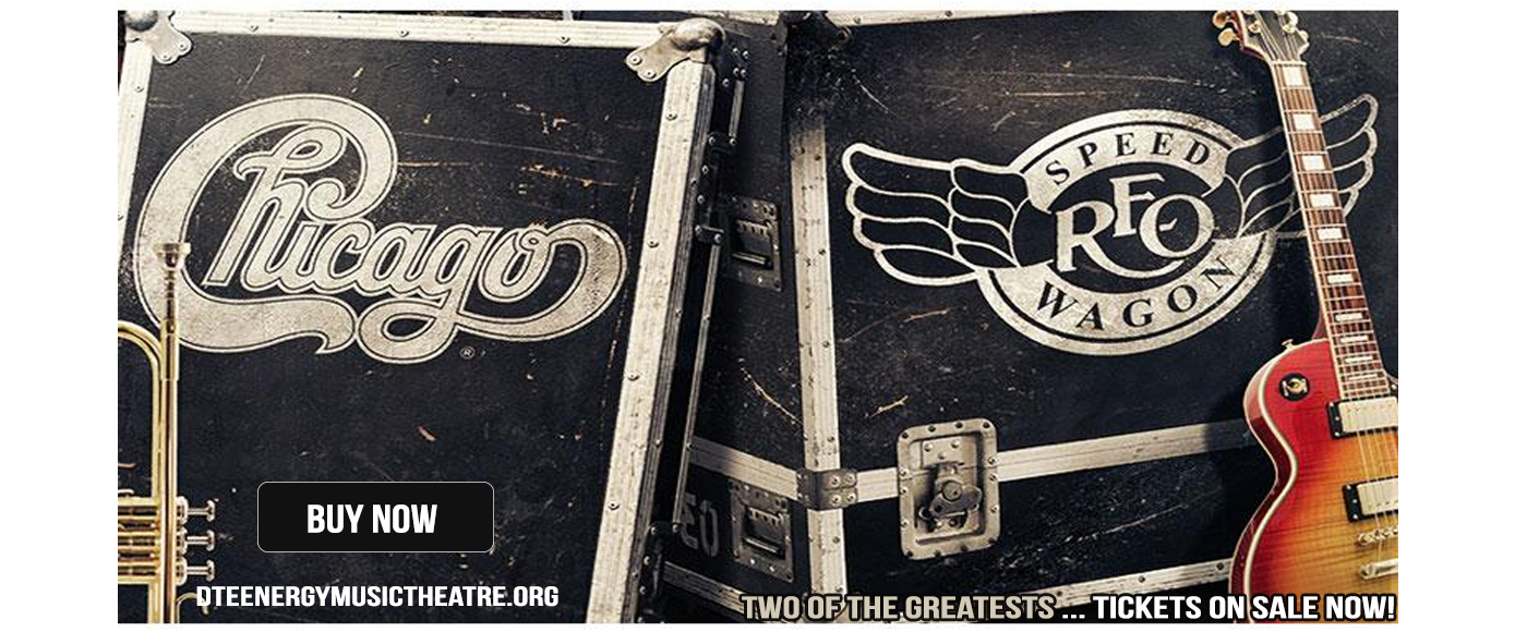 Chicago & REO Speedwagon at DTE Energy Music Theatre