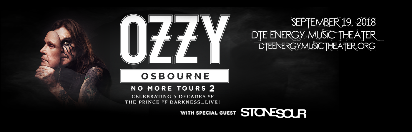 Ozzy Osbourne & Stone Sour at DTE Energy Music Theatre