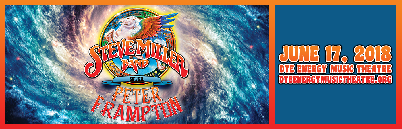 Steve Miller Band & Peter Frampton at DTE Energy Music Theatre