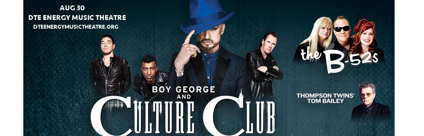 Boy George & Culture Club at DTE Energy Music Theatre