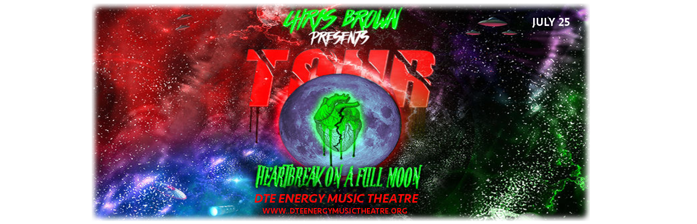 Chris Brown at DTE Energy Music Theatre