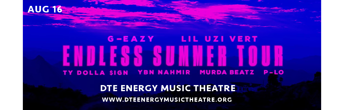 G-Eazy at DTE Energy Music Theatre
