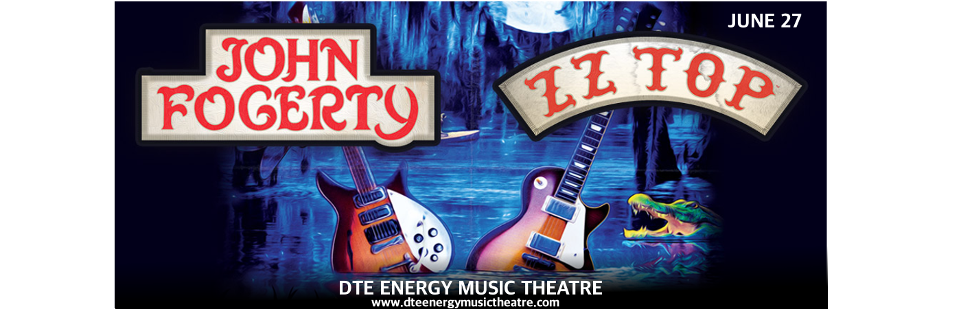 John Fogerty & ZZ Top at DTE Energy Music Theatre