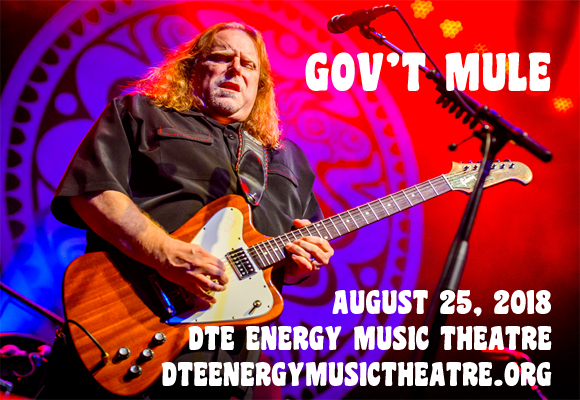 Gov't Mule & The Avett Brothers at DTE Energy Music Theatre