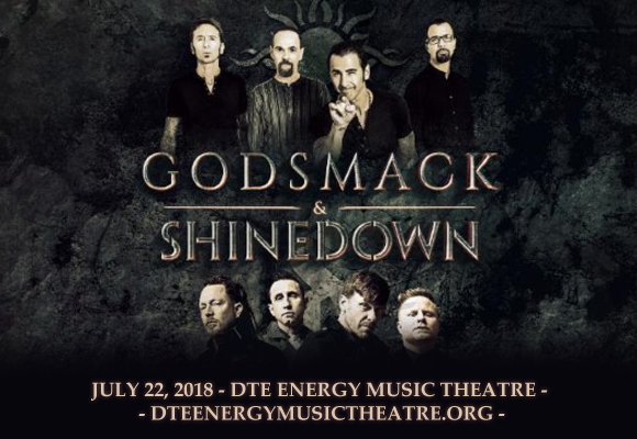 Shinedown & Godsmack at DTE Energy Music Theatre