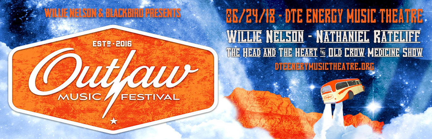 Outlaw Music Festival: Willie Nelson, Nathaniel Rateliff, The Head and The Heart & Old Crow Medicine Show at DTE Energy Music Theatre