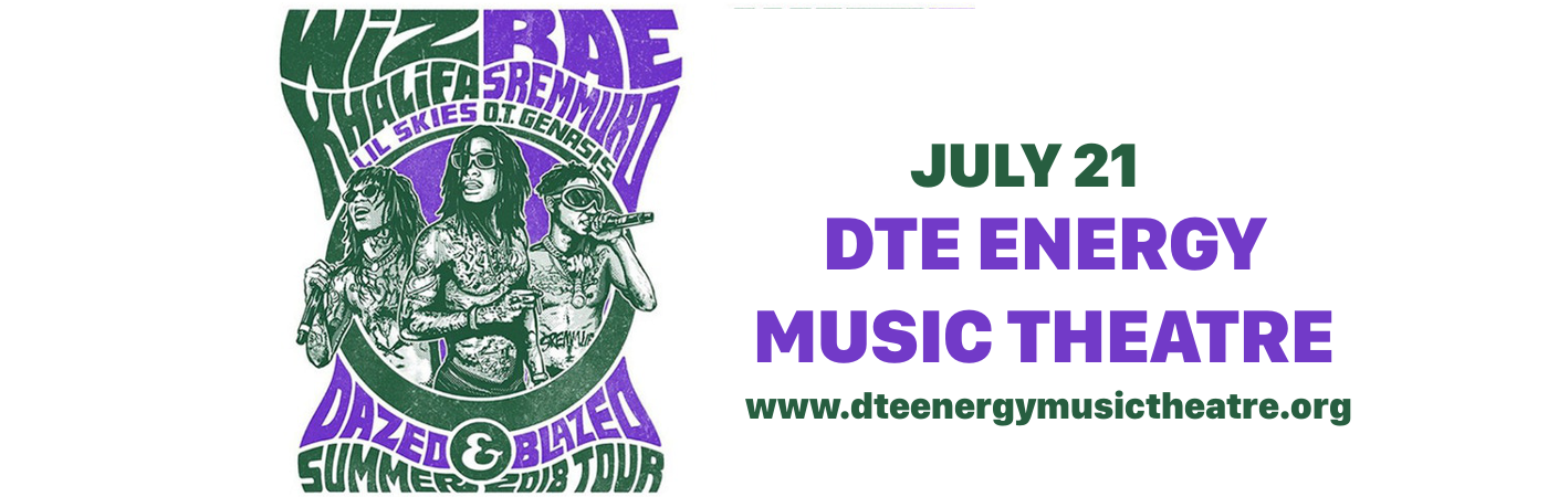 Wiz Khalifa & Rae Sremmurd at DTE Energy Music Theatre