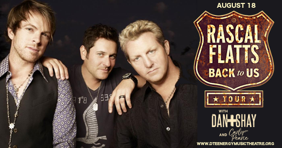 Rascal Flatts, Dan and Shay & Carly Pearce at DTE Energy Music Theatre
