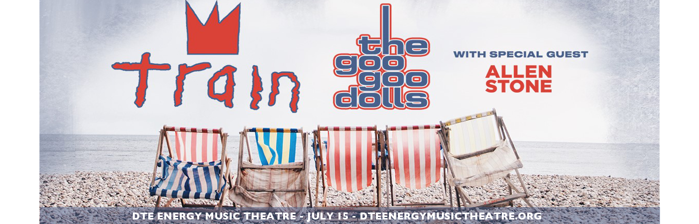 Train, Goo Goo Dolls & Allen Stone at DTE Energy Music Theatre