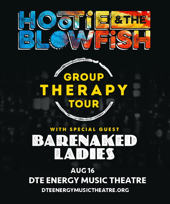 Hootie & The Blowfish at DTE Energy Music Theatre