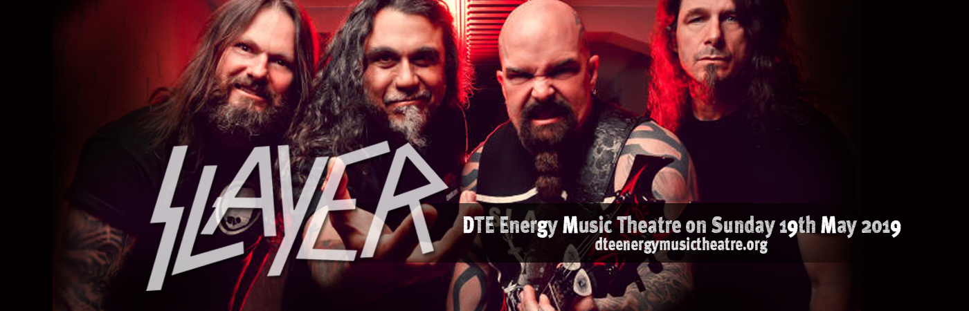 Slayer at DTE Energy Music Theatre
