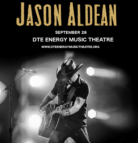 Jason Aldean at DTE Energy Music Theatre
