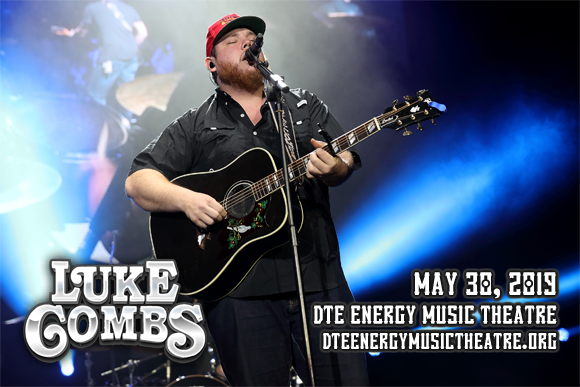 Luke Combs at DTE Energy Music Theatre