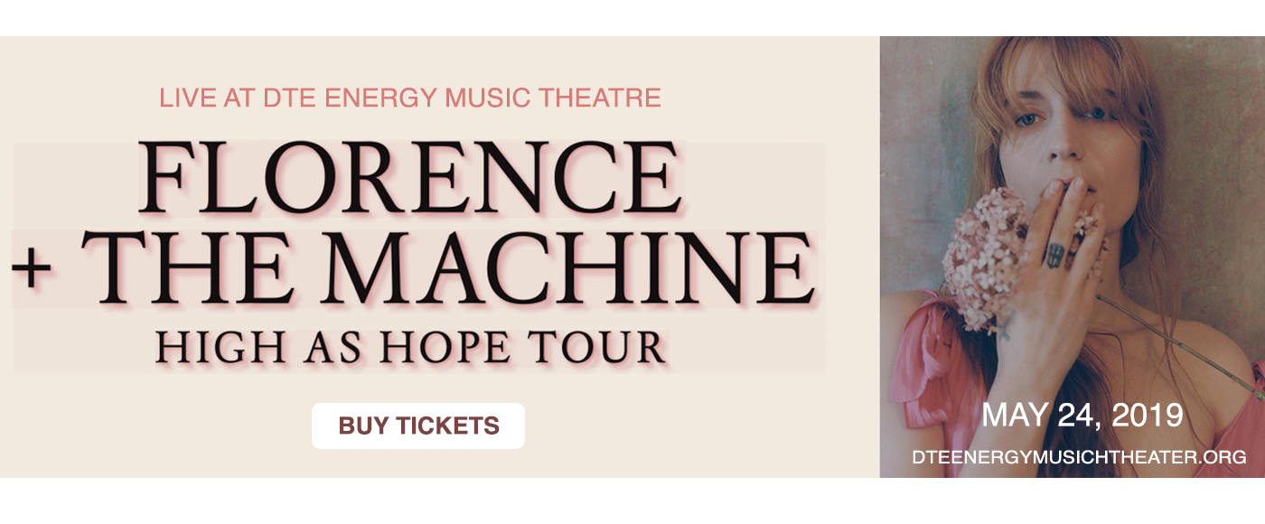 Florence and The Machine at DTE Energy Music Theatre