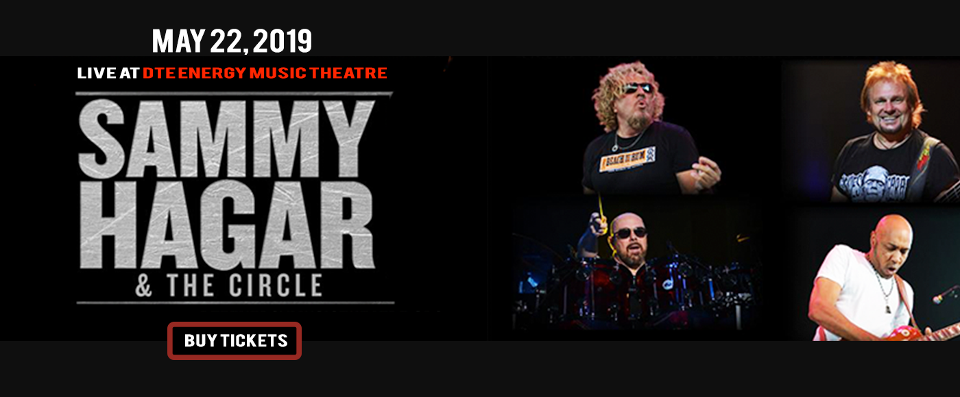Sammy Hagar and the Circle at DTE Energy Music Theatre
