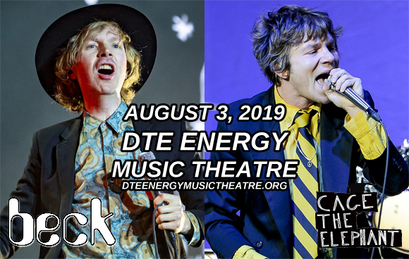 Beck & Cage The Elephant at DTE Energy Music Theatre
