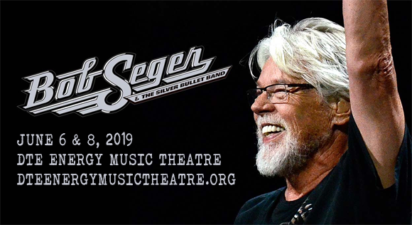 Bob Seger And The Silver Bullet Band at DTE Energy Music Theatre