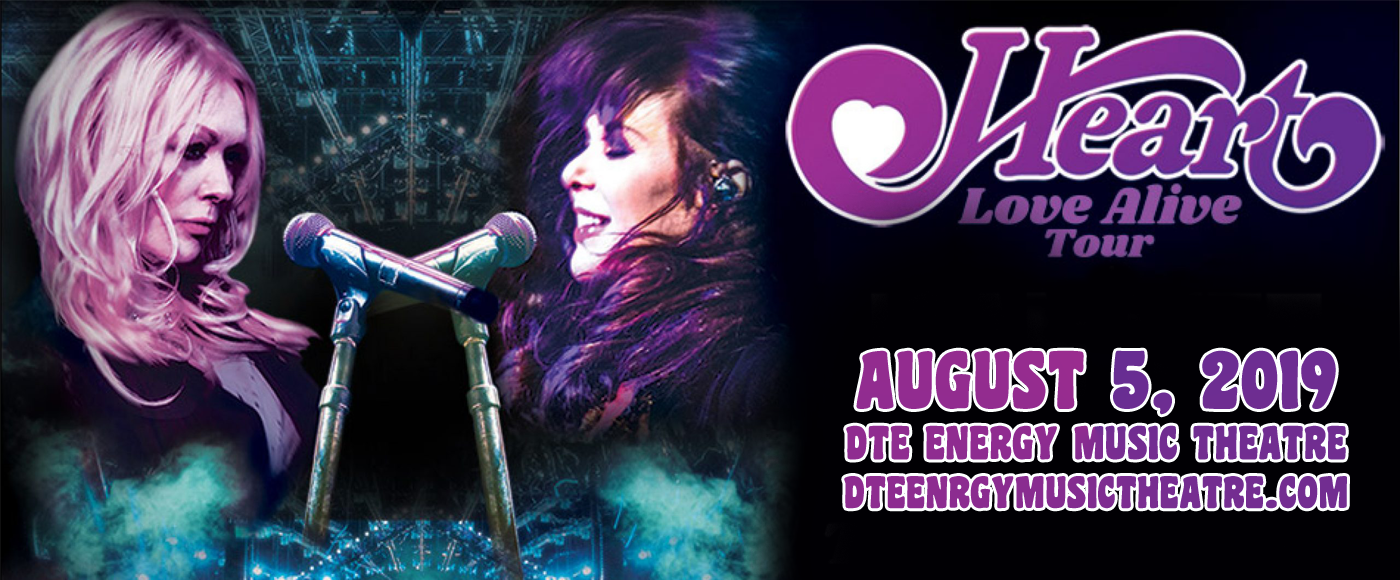 Heart, Joan Jett and the Blackhearts & Elle King at DTE Energy Music Theatre