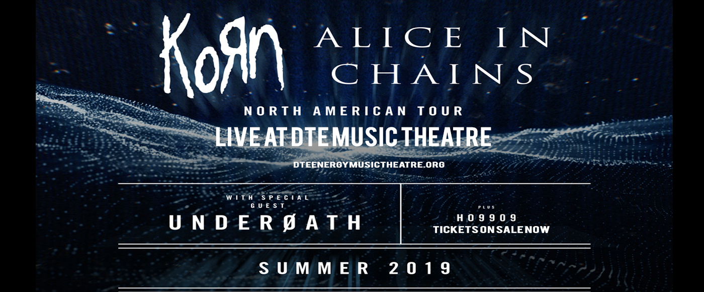Korn & Alice In Chains at DTE Energy Music Theatre