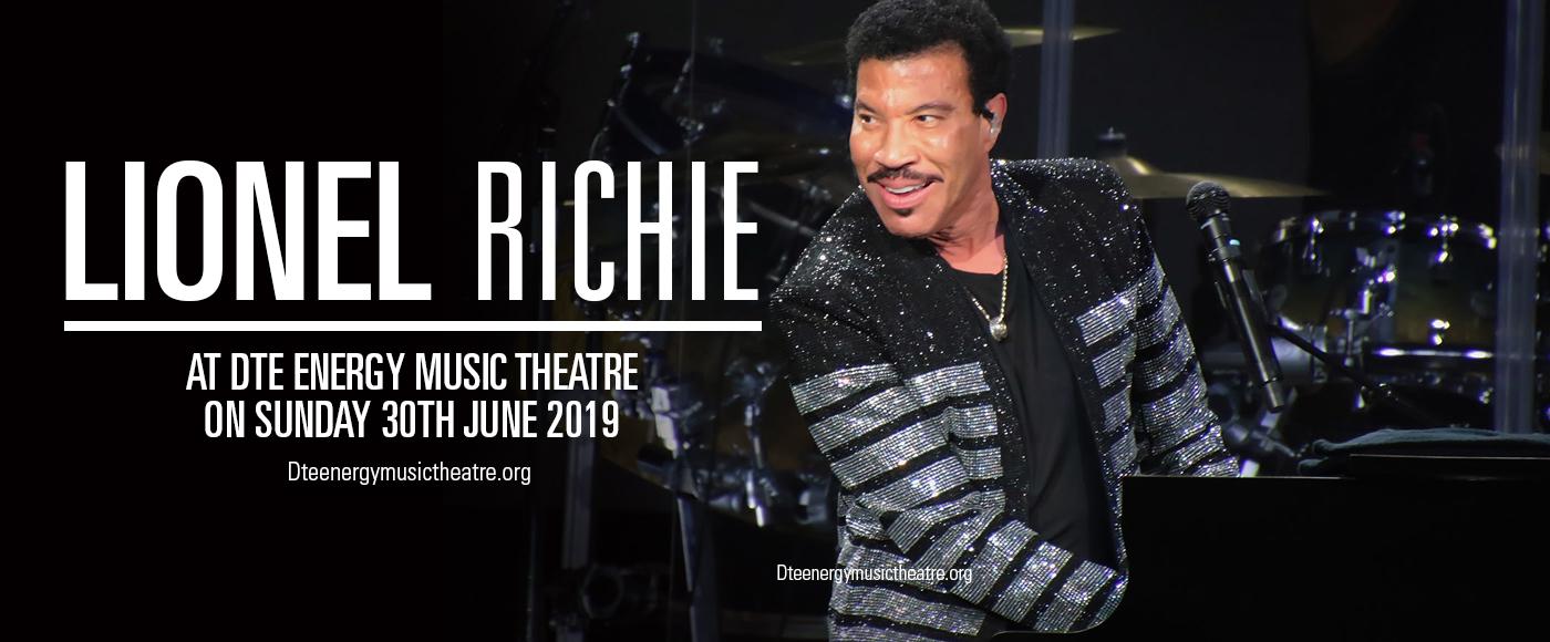 Lionel Richie at DTE Energy Music Theatre