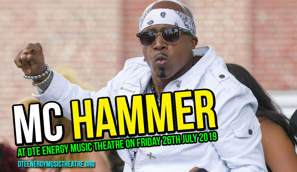 MC Hammer at DTE Energy Music Theatre