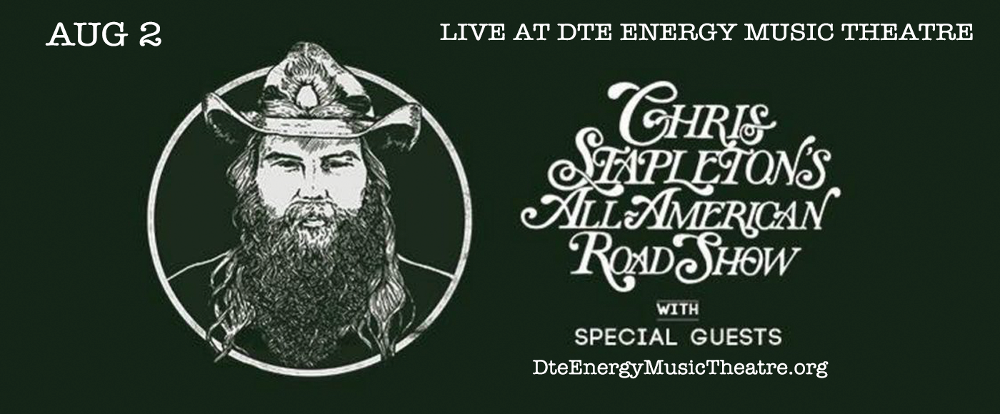 Chris Stapleton at DTE Energy Music Theatre