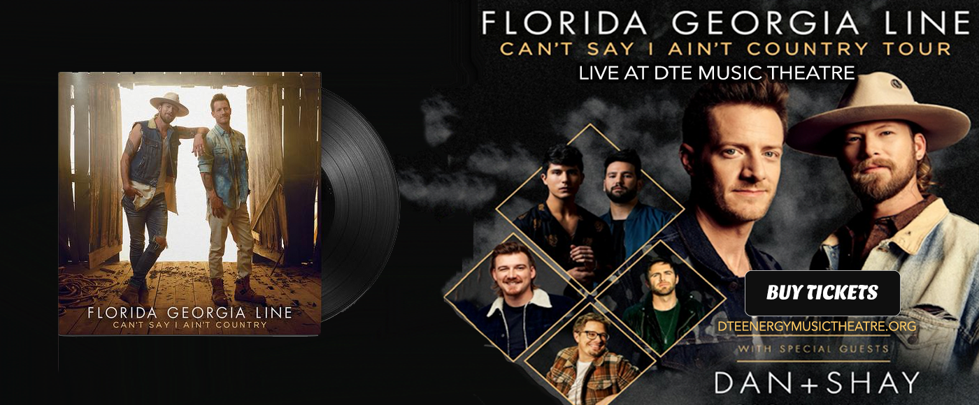 Florida Georgia Line, Dan and Shay & Morgan Wallen at DTE Energy Music Theatre