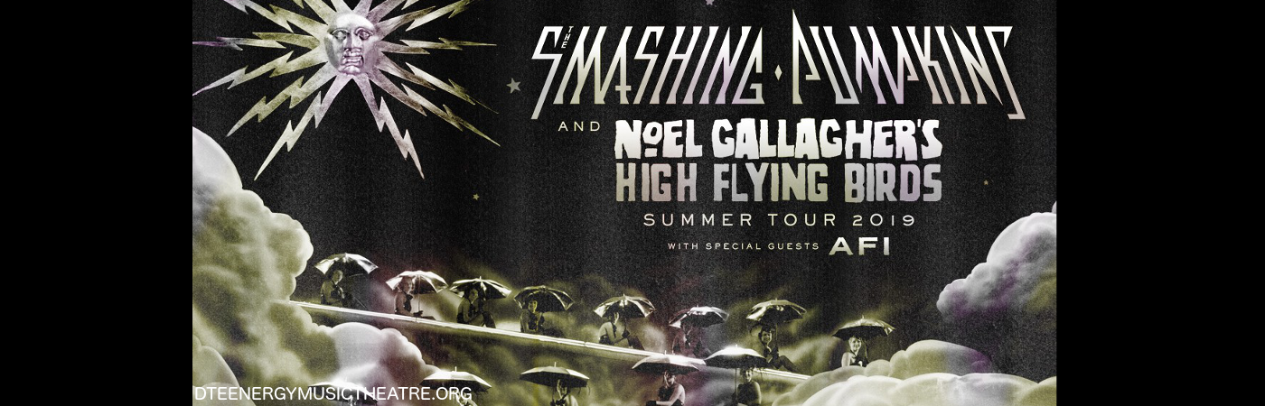 Smashing Pumpkins & Noel Gallagher's High Flying Birds at DTE Energy Music Theatre