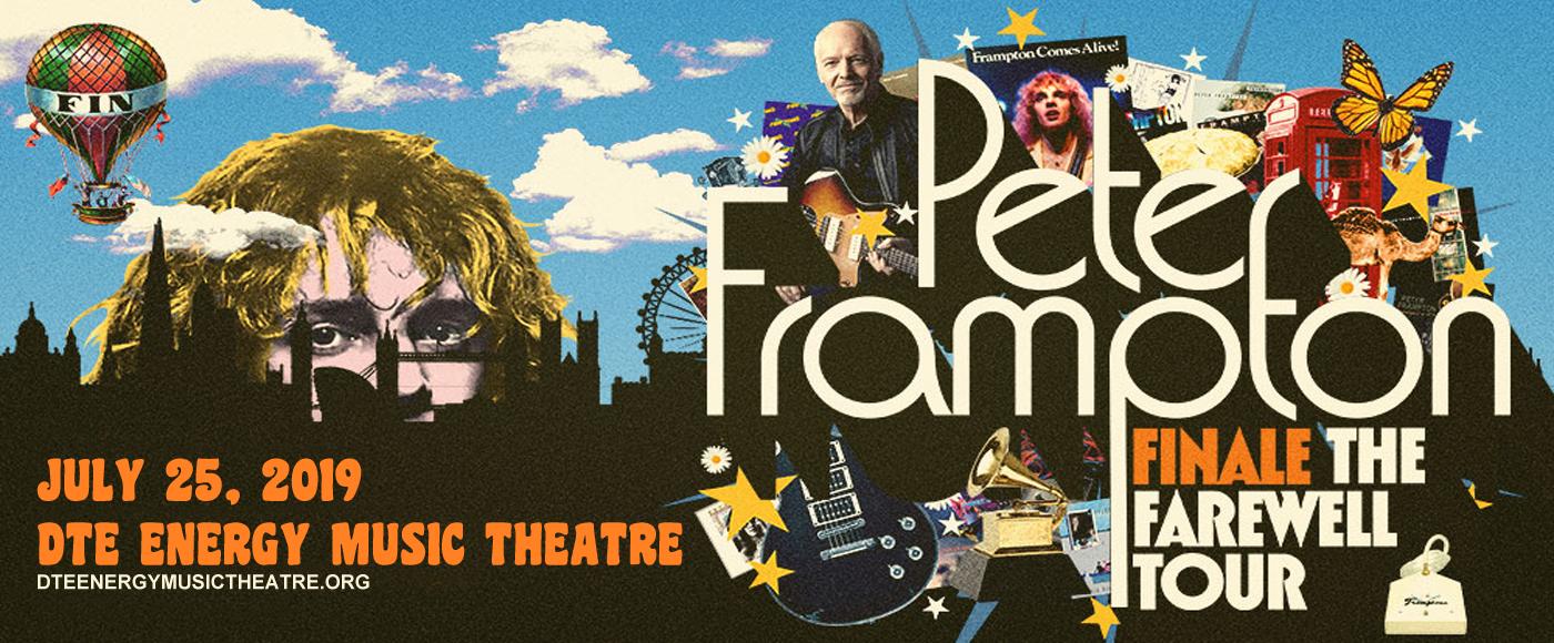 Peter Frampton at DTE Energy Music Theatre