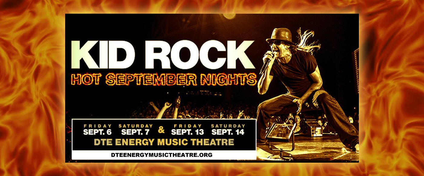 Kid Rock at DTE Energy Music Theatre