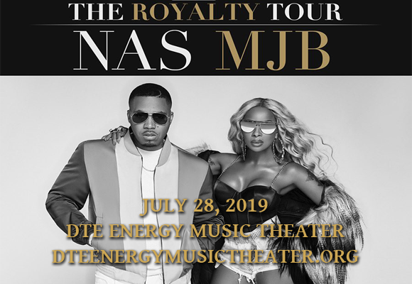 Mary J. Blige & Nas at DTE Energy Music Theatre