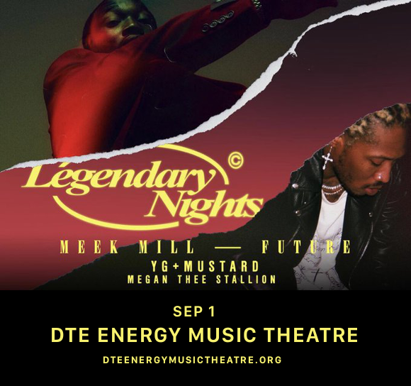 Meek Mill & Future at DTE Energy Music Theatre