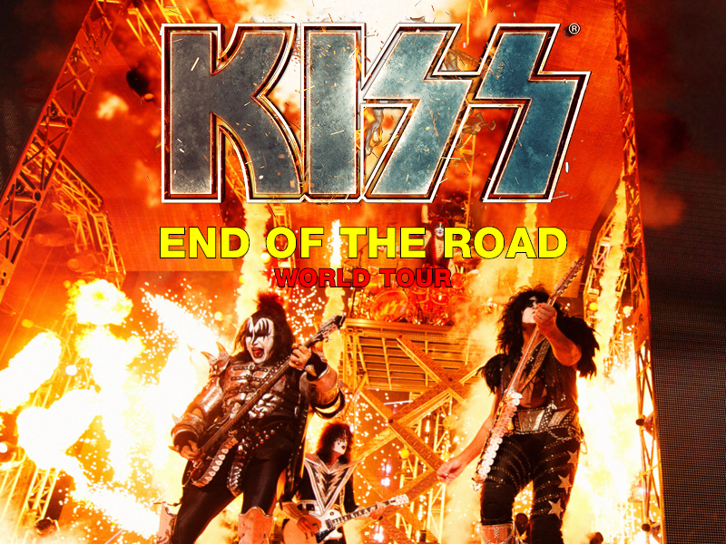 Kiss: The End Is Near... at DTE Energy Music Theatre