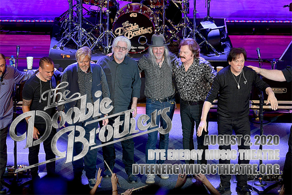 The Doobie Brothers & Michael McDonald at DTE Energy Music Theatre