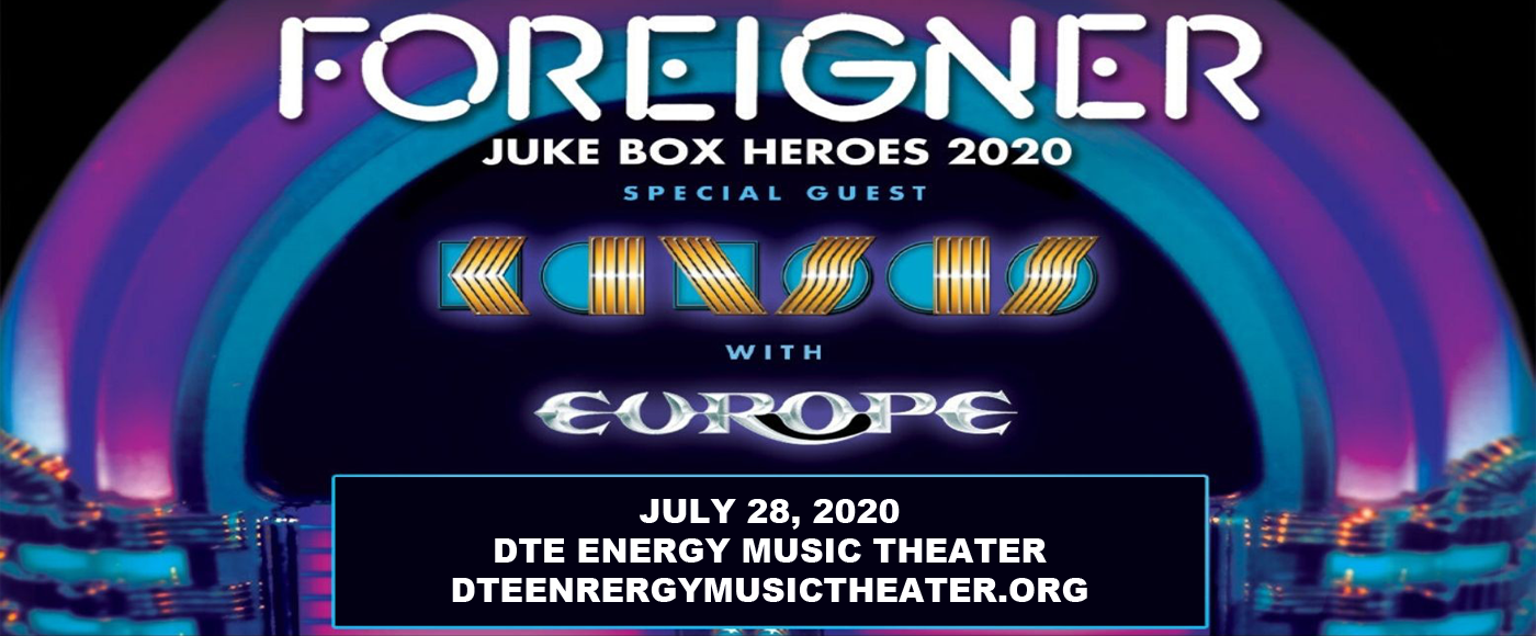 Foreigner, Kansas & Europe at DTE Energy Music Theatre