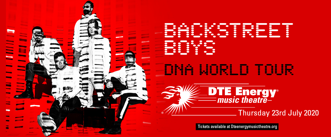 Backstreet Boys at DTE Energy Music Theatre
