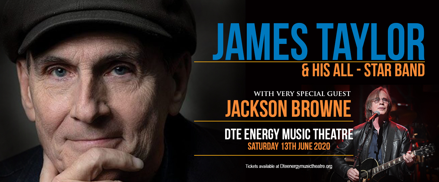 James Taylor & Jackson Browne [POSTPONED] at DTE Energy Music Theatre