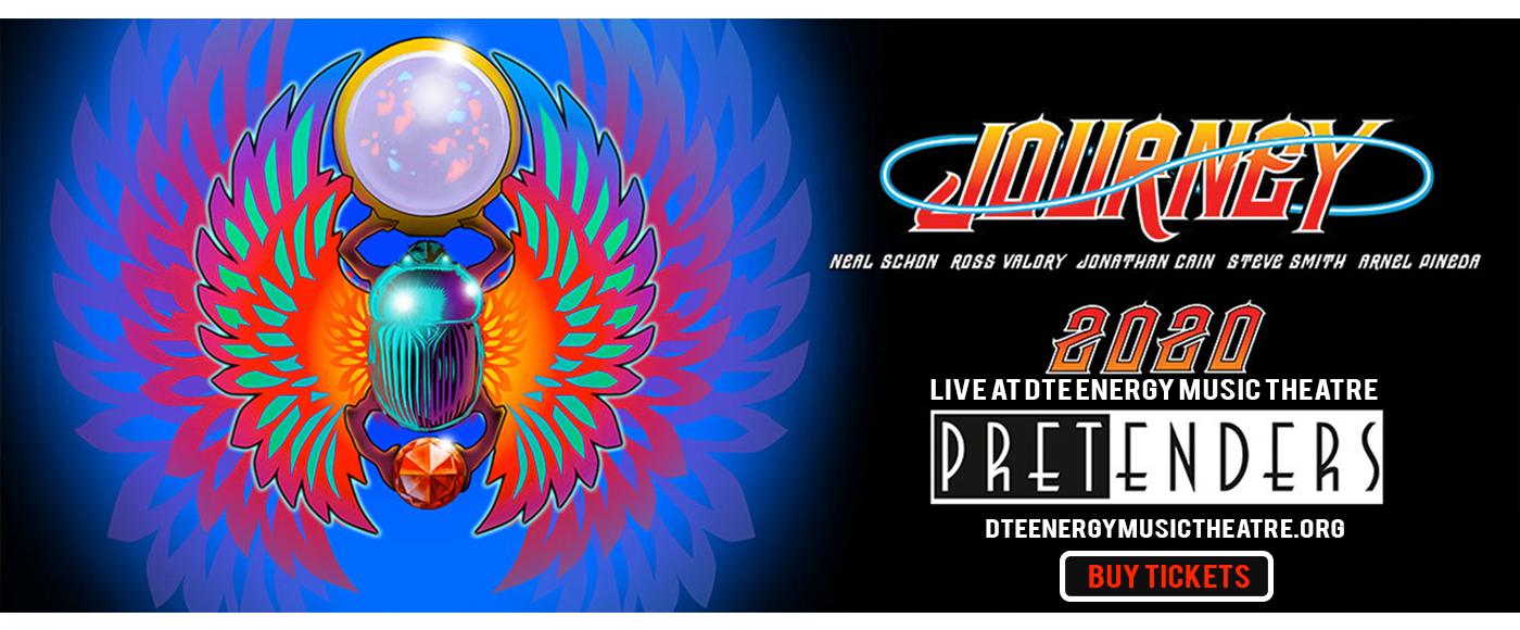 Journey & The Pretenders [CANCELLED] at DTE Energy Music Theatre
