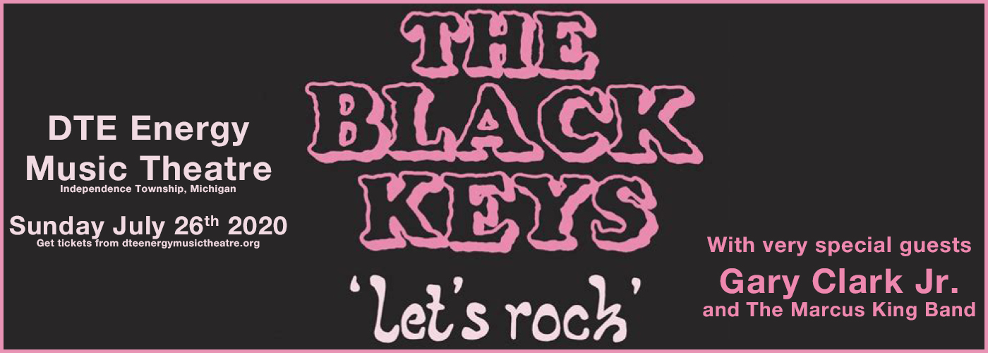 The Black Keys [CANCELLED] at DTE Energy Music Theatre