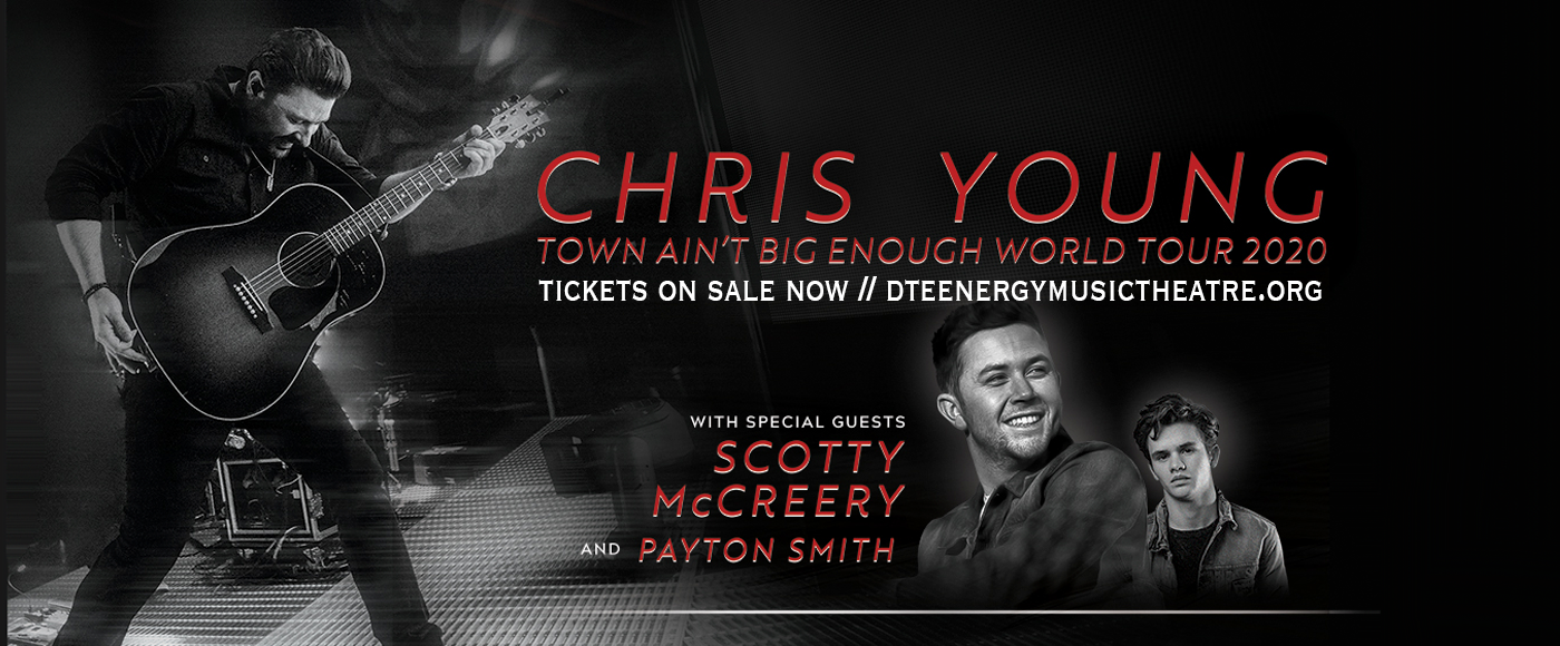 Chris Young, Scotty McCreery & Payton Smith [CANCELLED] at DTE Energy Music Theatre