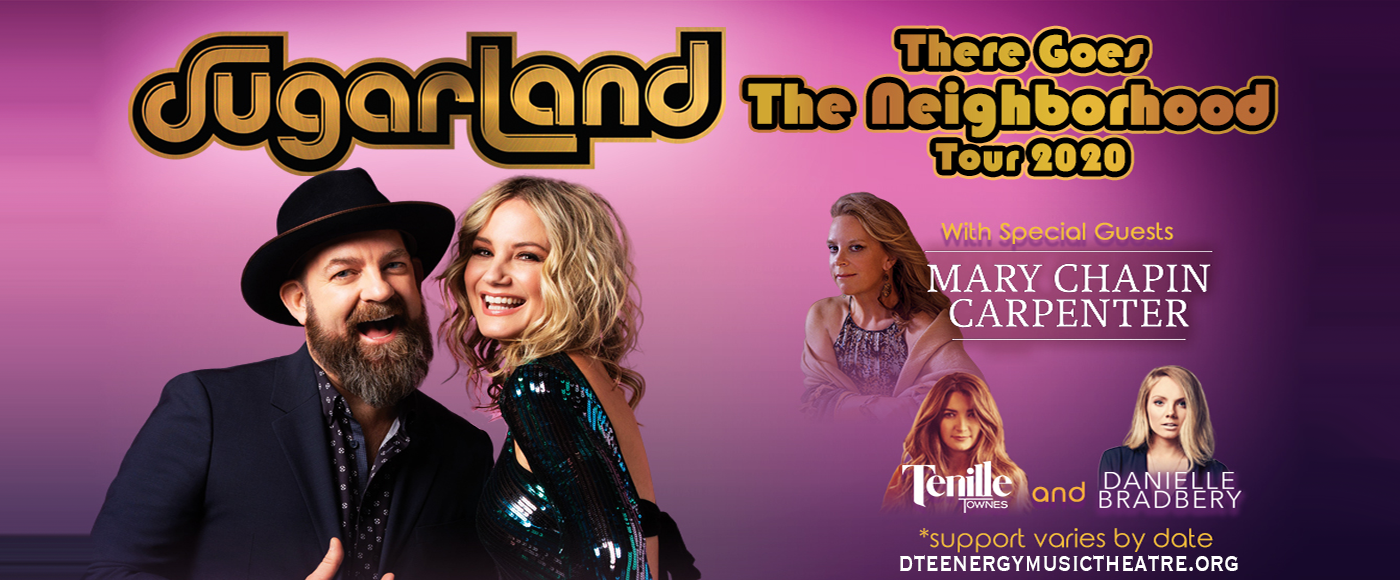Sugarland, Mary Chapin Carpenter & Danielle Bradbery [CANCELLED] at DTE Energy Music Theatre