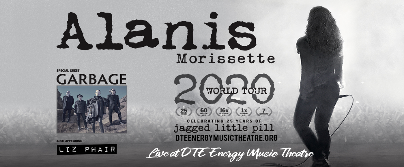 Alanis Morissette [POSTPONED] at DTE Energy Music Theatre