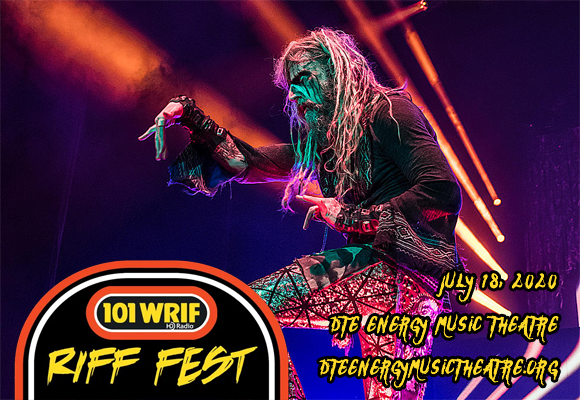 Riff Fest: Rob Zombie, Halestorm, Beartooth & The Blue Stones [CANCELLED] at DTE Energy Music Theatre