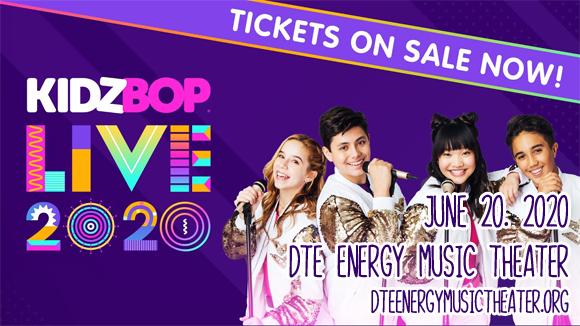 Kidz Bop Live at DTE Energy Music Theatre