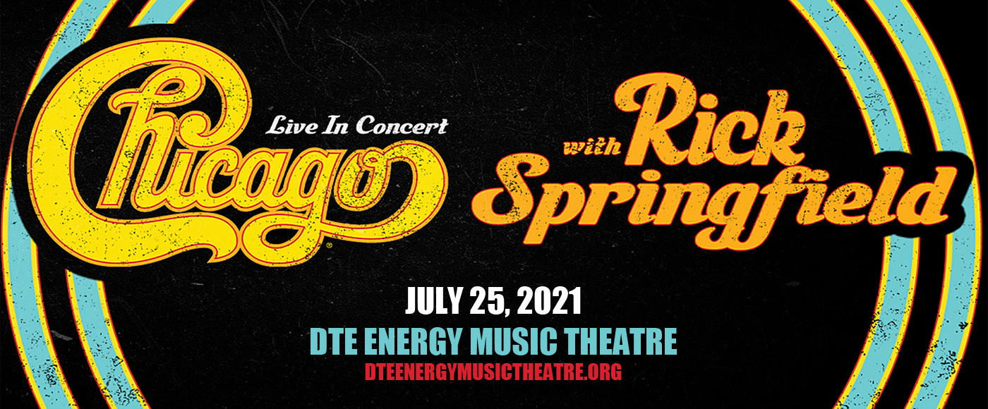 Chicago - The Band & Rick Springfield at DTE Energy Music Theatre