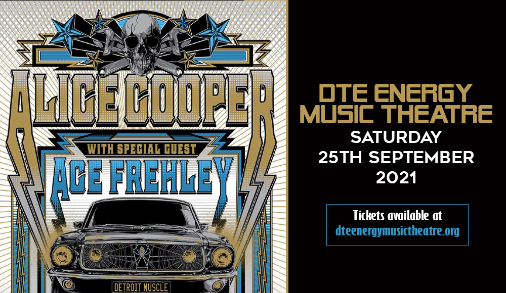 Alice Cooper & Ace Frehley at DTE Energy Music Theatre