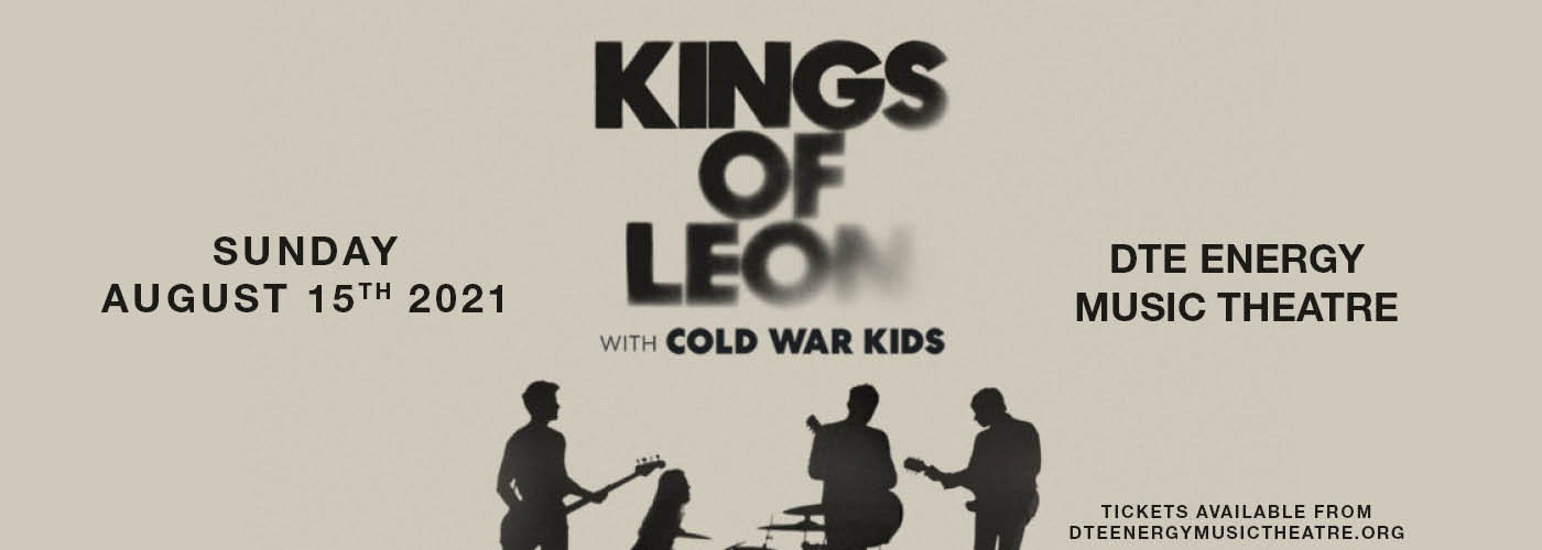 Kings of Leon: When You See Yourself Tour at DTE Energy Music Theatre